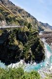 Garganta Queenstown Nova Zelândia dos capitães Foto de Stock Royalty Free