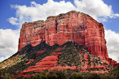 Garganta Sedona o Arizona do Butte da casa de corte Imagem de Stock Royalty Free