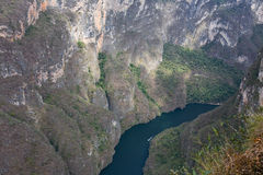 Garganta Sumidero, Chiapas, México Imagens de Stock