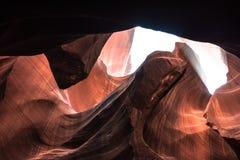 Garganta superior do antílope, o Arizona Fotos de Stock Royalty Free
