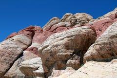 Garganta vermelha da rocha Imagem de Stock