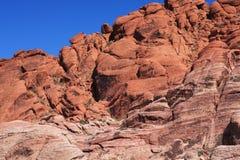 Garganta vermelha da rocha em Las Vegas Imagens de Stock Royalty Free