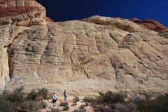 Garganta vermelha da rocha em Las Vegas Fotografia de Stock