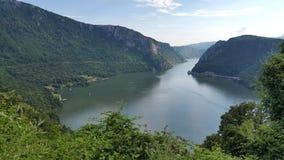 Gargantas de Danubio Imágenes de archivo libres de regalías