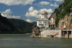 Gargantas de Danubio, Rumania Foto de archivo libre de regalías