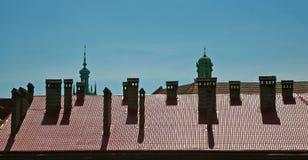 Gargantas múltiples de una chimenea Imagen de archivo libre de regalías