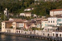 Gargnano na Jeziornym Gardzie Włochy Obrazy Stock