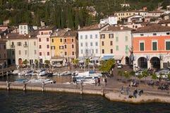 Gargnano na Jeziornym Gardzie Włochy Fotografia Stock
