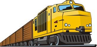 Gargo train Stock Image