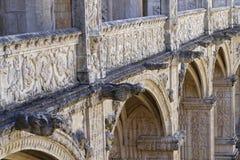 Gargoiles of monastery Stock Photography