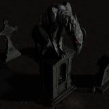 Gargouille #01 Image stock