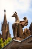 Gargouille, cathédrale de rue Mary. Sydney. l'Australie Photos stock