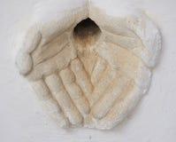 Gargouille d'une maison dans la vieille ville de Martina Franca, Puglia Image stock