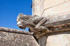 Gargouille de palais papal (vers 1370). Avignon, France image libre de droits