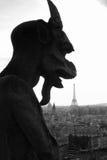 Gargouille Eiffel Stock Afbeelding