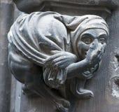 Gargouille gothique Photo stock