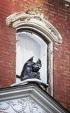 Gargouille op Oud Huis Stock Foto