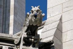 Gargouille Paris Sacre Coeur Image libre de droits