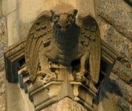 Gargouille sur l'église Images libres de droits