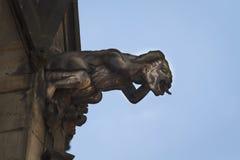 Gargouille sur St Vitus Cathedral Images libres de droits