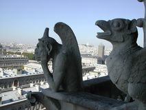 Gargouilles ! Photos libres de droits