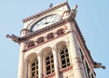 Gargouilles de Toronto sur la tour d'horloge 2010 Photographie stock