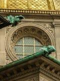 Gargouilles op een Bulding Stock Fotografie