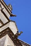 Gargouilles sur la cathédrale de Saint Pierre photo stock