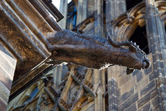 gargoyle μεσαιωνικός Στοκ Φωτογραφία