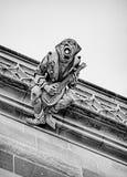 Gargoyle με το μαντολίνο Στοκ εικόνες με δικαίωμα ελεύθερης χρήσης