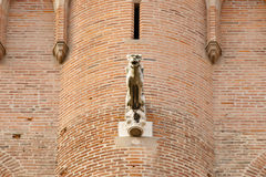 Gargoyle στον καθεδρικό ναό της Άλβης - Άλβη - Γαλλία Στοκ Φωτογραφία