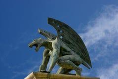 Gargoyle του βασίλειου γεφυρών. Βαλένθια. Ισπανία Στοκ φωτογραφίες με δικαίωμα ελεύθερης χρήσης