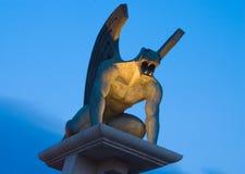 gargoyle моста Стоковые Фотографии RF