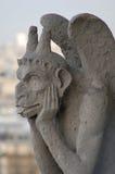 Gargoyle. Of Notre Dame of Paris stock image