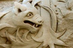 gargoyle royaltyfri fotografi