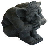 Gargoyle. Guarding Gargoyle royalty free stock photography