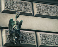 gargoyle Fotografering för Bildbyråer