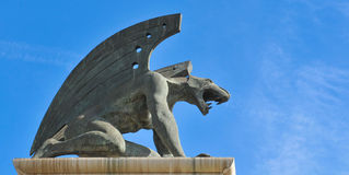 Gargoyle architectural detail Stock Photography