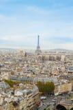 Gargoyle av den Notre Dame domkyrkan Arkivfoton