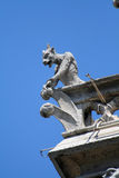 Gargoyle on a balcony Stock Photos