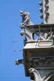 Gargoyle on a cathedral Royalty Free Stock Photos