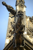 A gargoyle on the Cathedral Stock Images