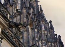Gargoyle, cattedrale della st Vitus Immagine Stock Libera da Diritti