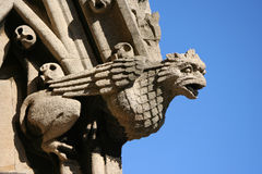 Gargoyle on church Oxford Stock Photography