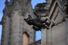 Gargoyle on church Stock Photo