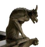 Gargoyle de Notre Dame, Paris imagem de stock royalty free
