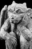 Gargoyle de Víspera de Todos los Santos Imágenes de archivo libres de regalías