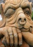 Gargoyle di pietra Immagine Stock