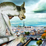 The gargoyle dinner Royalty Free Stock Images