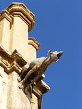 Gargoyle do castelo Fotos de Stock Royalty Free